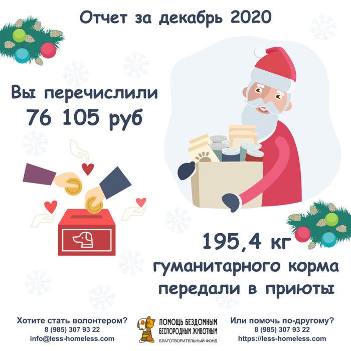 отчет за декабрь